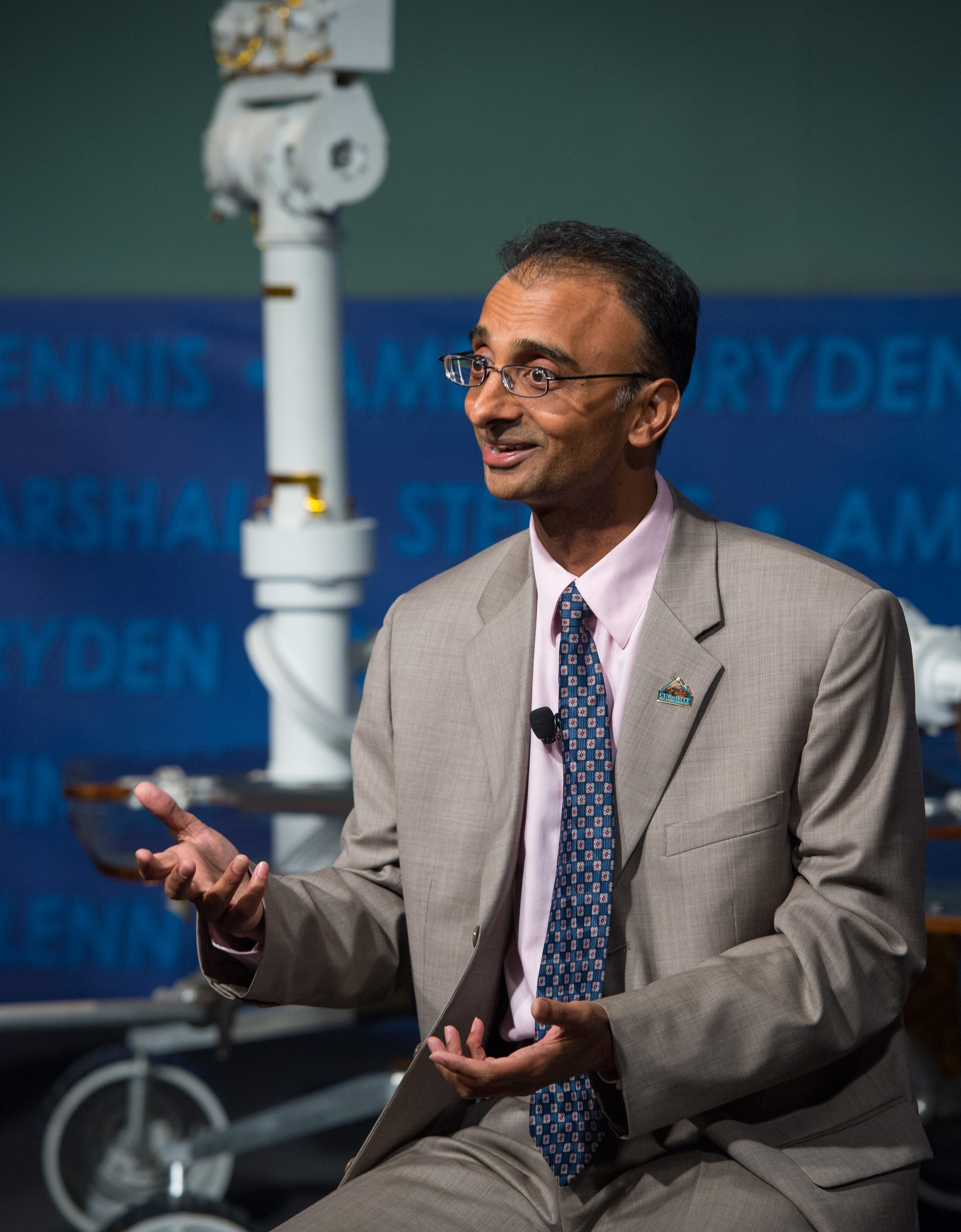 Prasun Desai Speaks at Curiosity First Anniversary Event