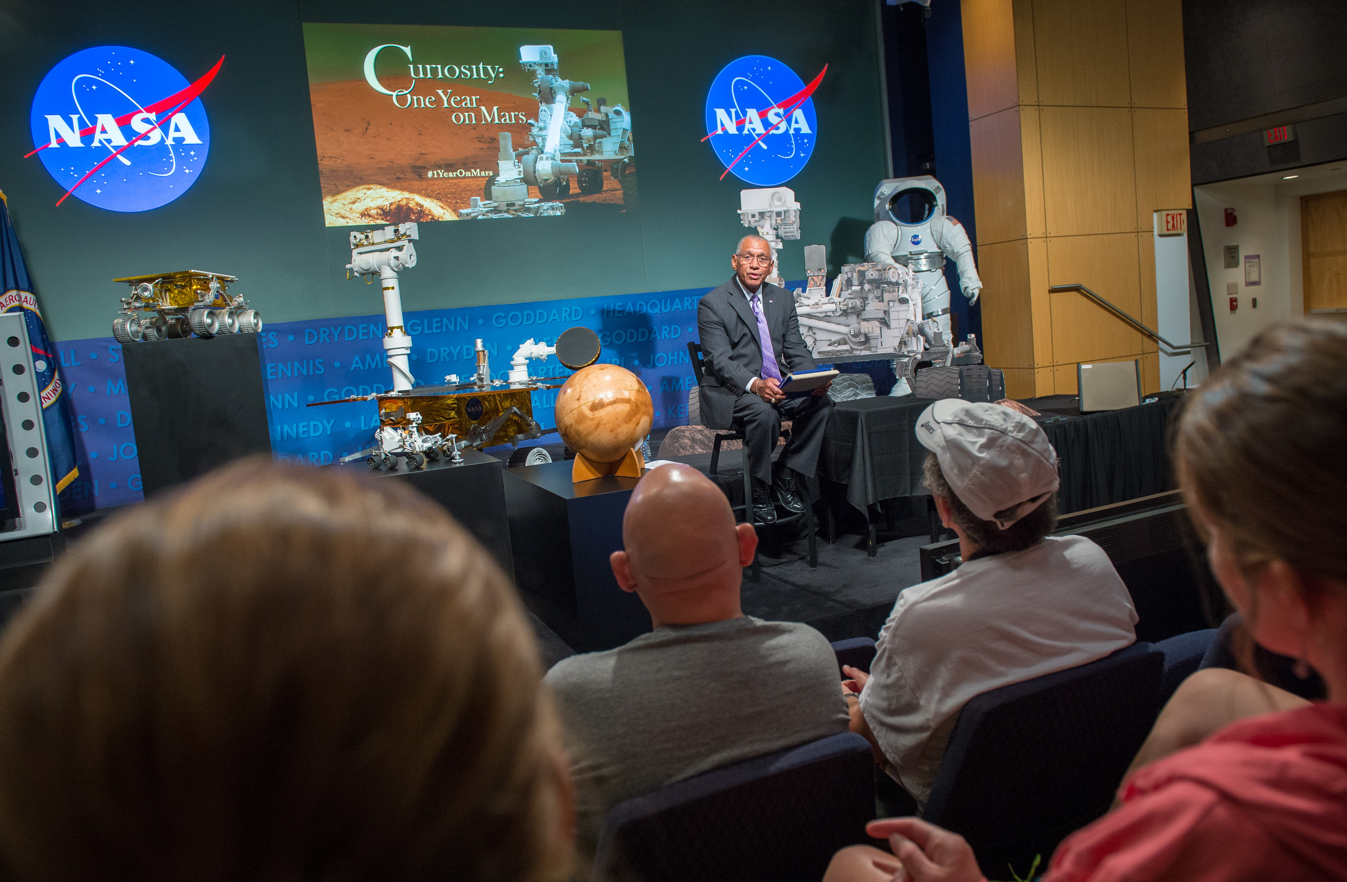 Bolden at Curiosity First Anniversary Event