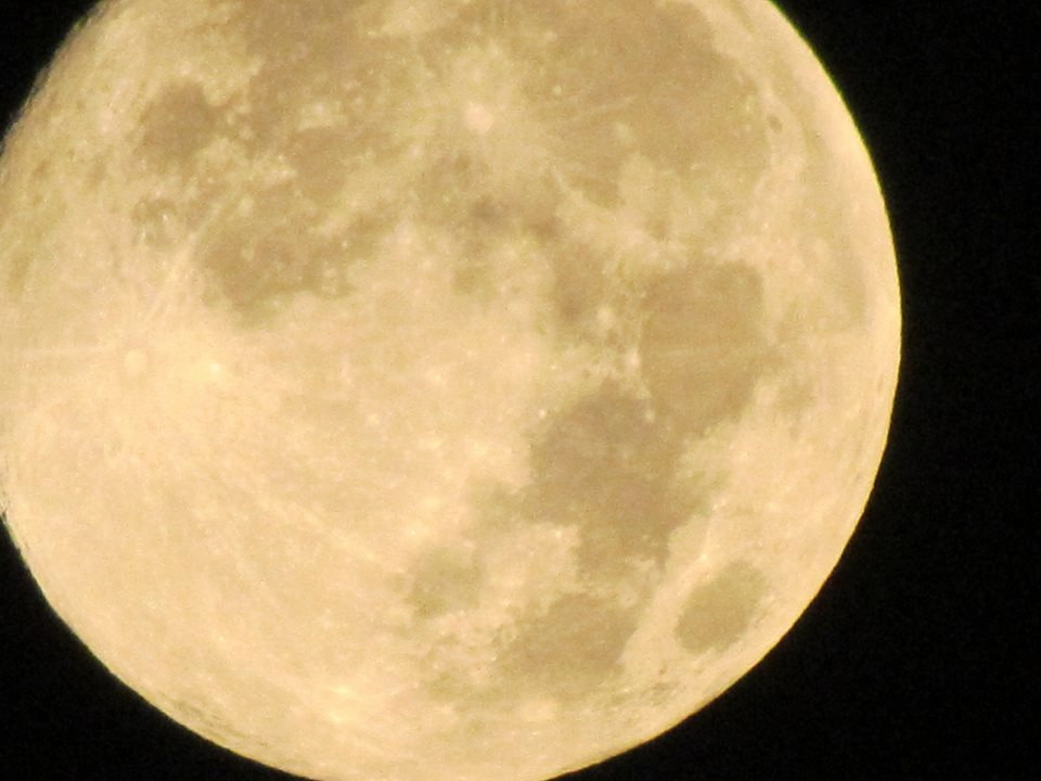 August 2013 Full Moon Seen Over Nashville, TN