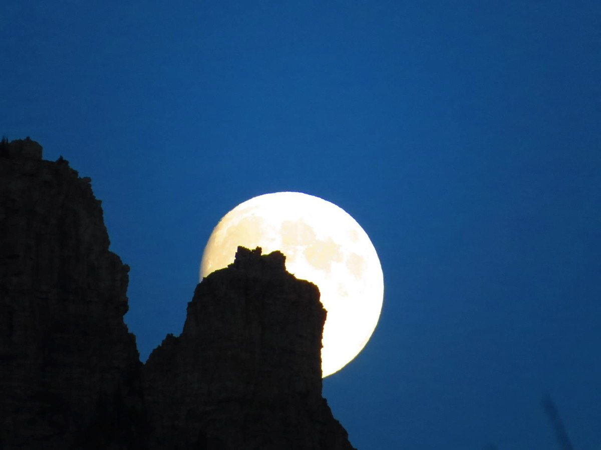 Blue Moon Photos: August Full Moon of 2013 in Pictures