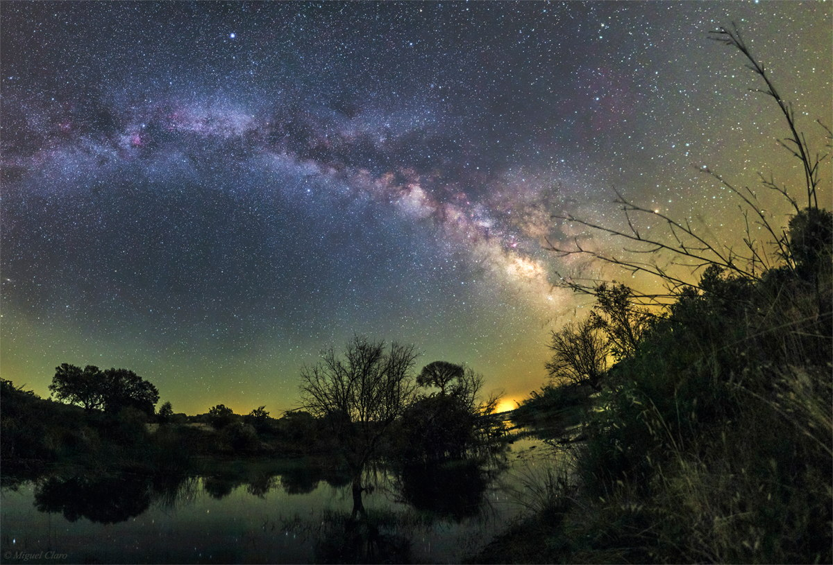 Milky Way Over the Alqueva Dark Sky Reserve, Portugal