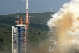 A July 20 liftoff of a Long March-4C carrier rocket carried three satellites, lifting off from the Taiyuan Satellite Launch Center in Taiyuan, capital of north China's Shanxi Province. The Chuangxin-3, Shiyan-7 and Shijian-15 spacecraft are to be used mainly for conducting scientific experiments on space maintenance technologies.