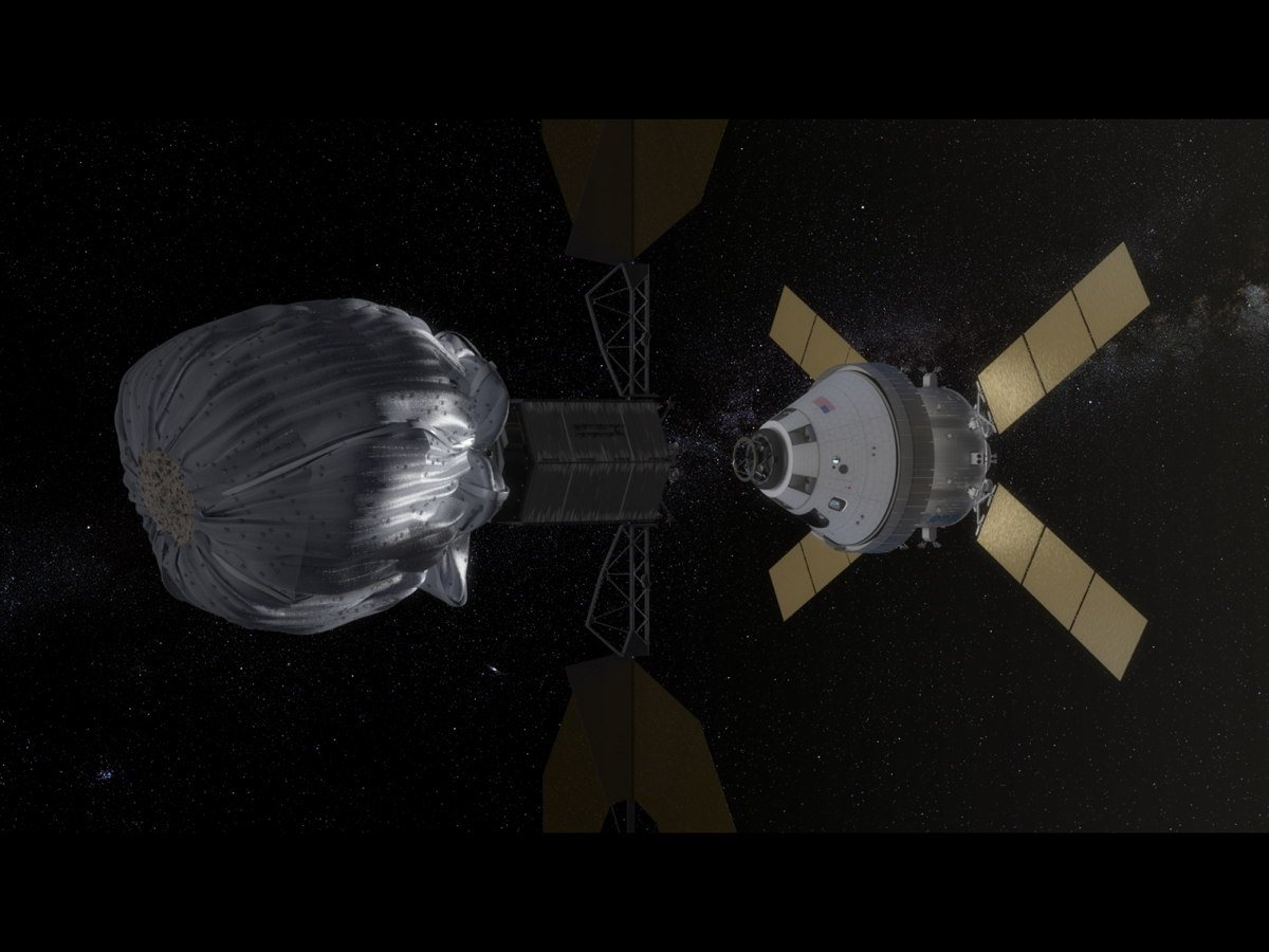 Orion Docking Approach