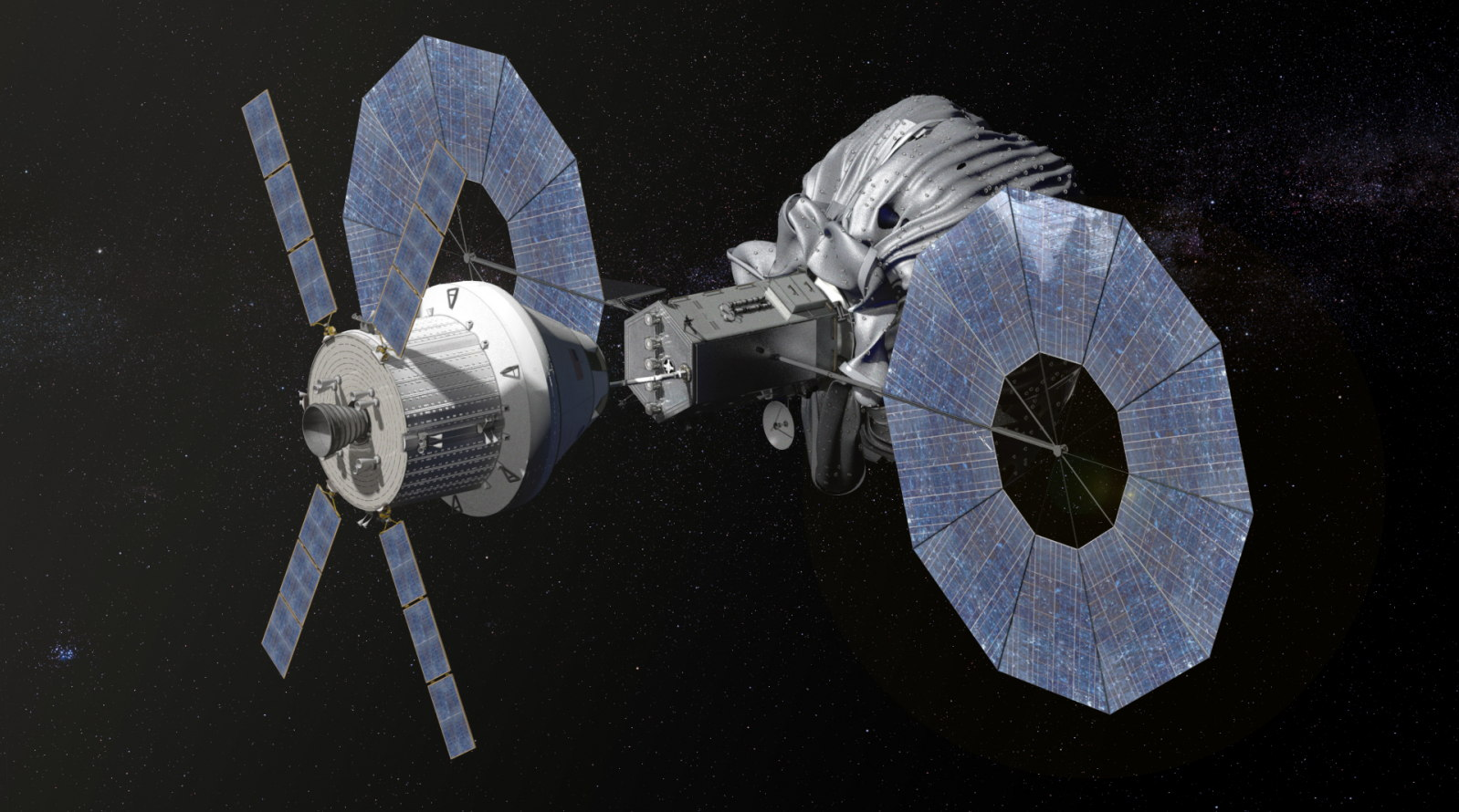 Robotic Asteroid Redirect Vehicle with Orion