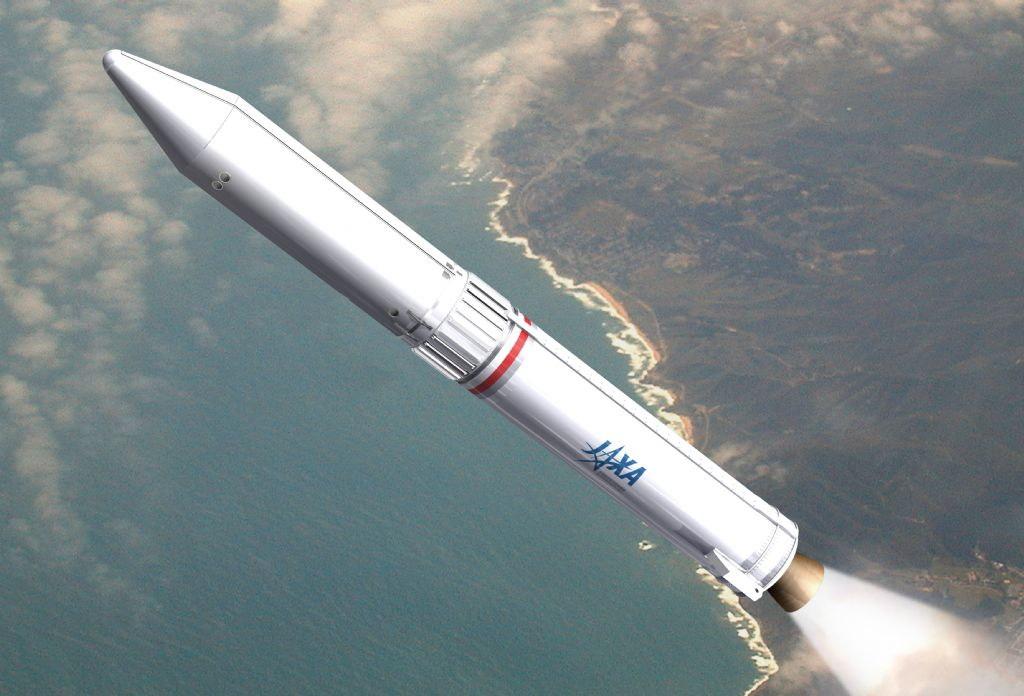 Epsilon Launch Vehicle Illustration
