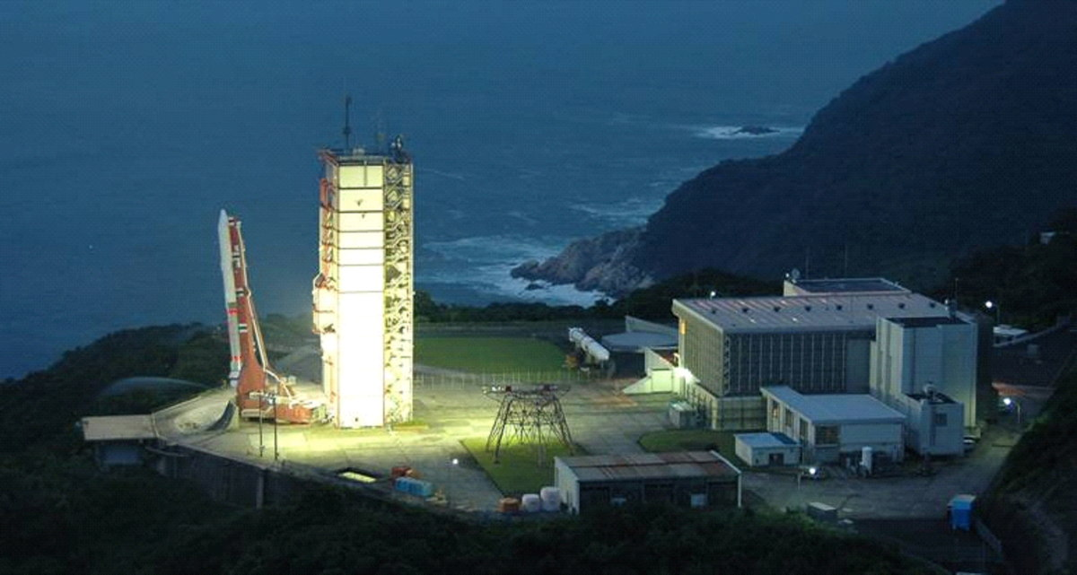 Epsilon Launch Vehicle Launching Point