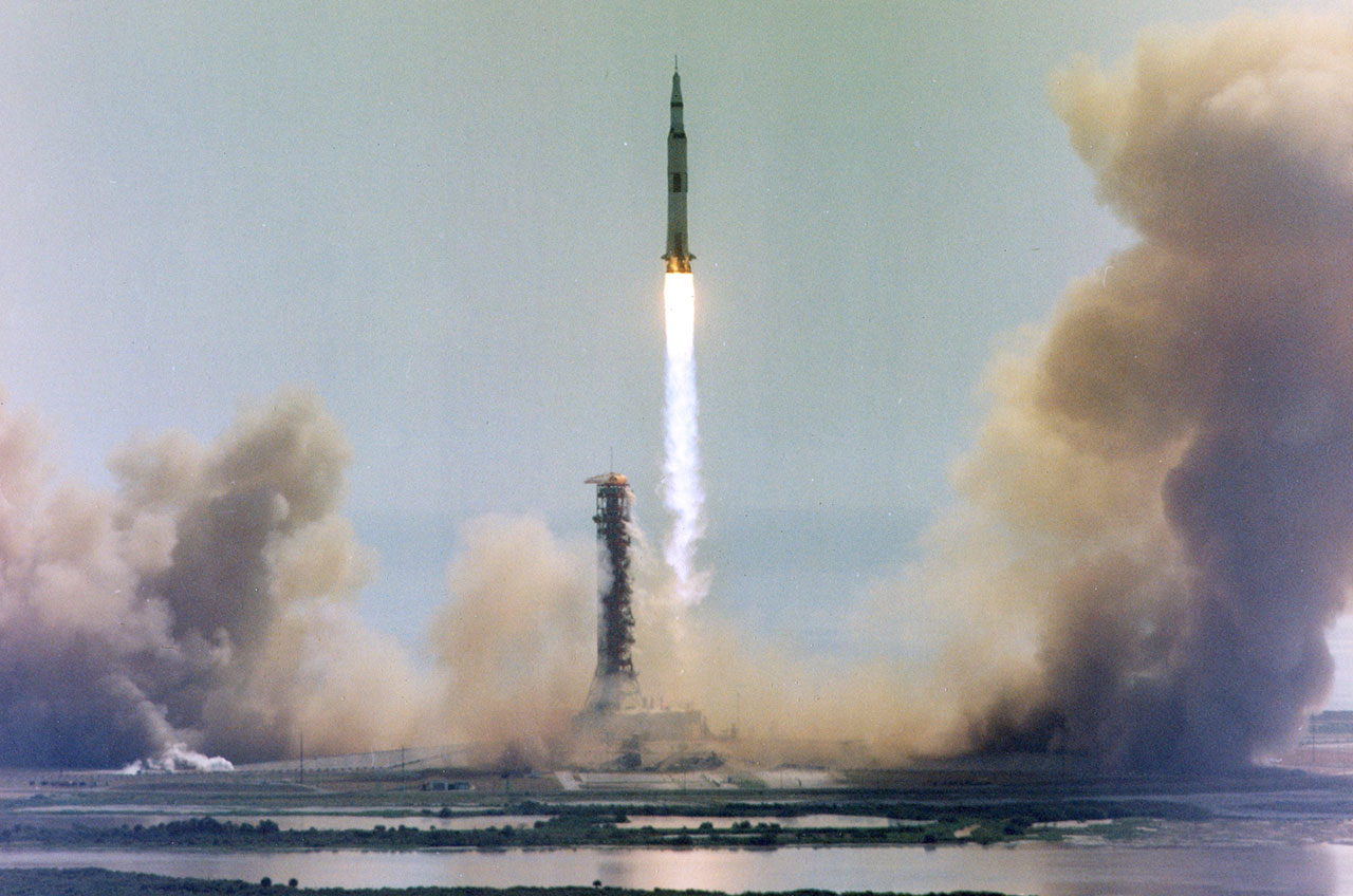 Apollo 11's Saturn V 1969