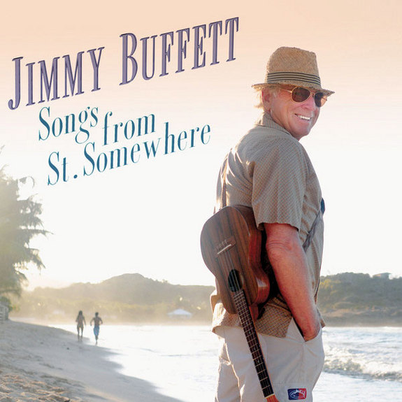 "Cover art for Jimmy Buffett's album ""Songs from St. Somewhere"" as released on Aug. 20, 2013."