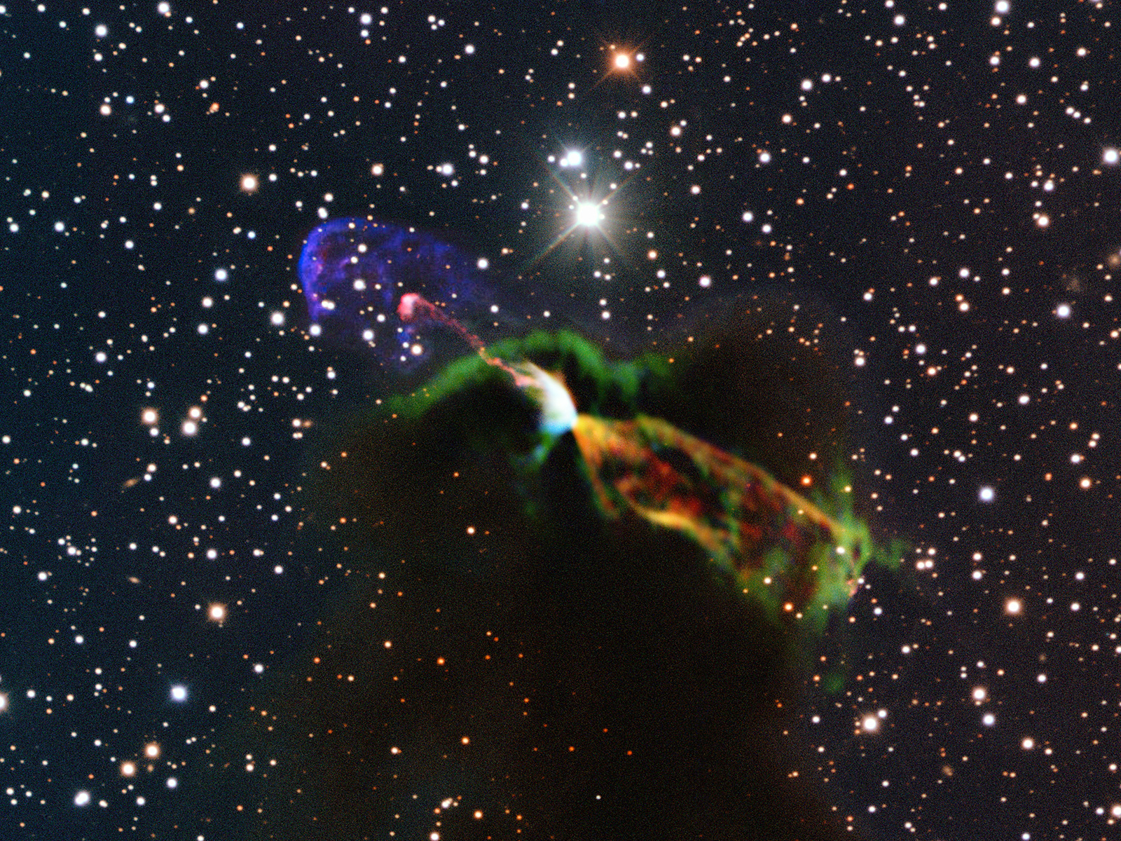 Newborn Star HH 46/47