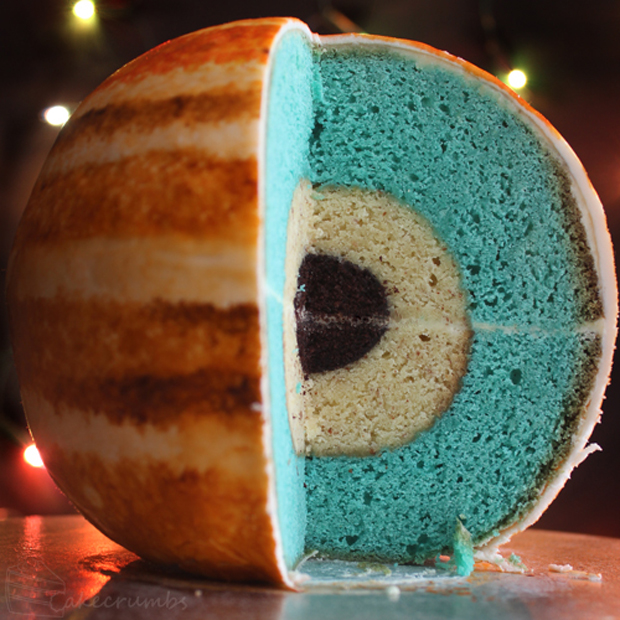 Jupiter's Interior in Cake Form
