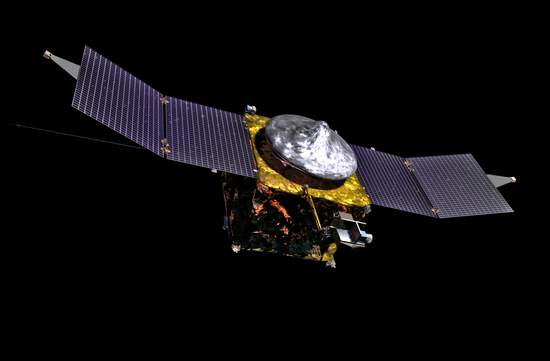 MAVEN Spacecraft Illustration