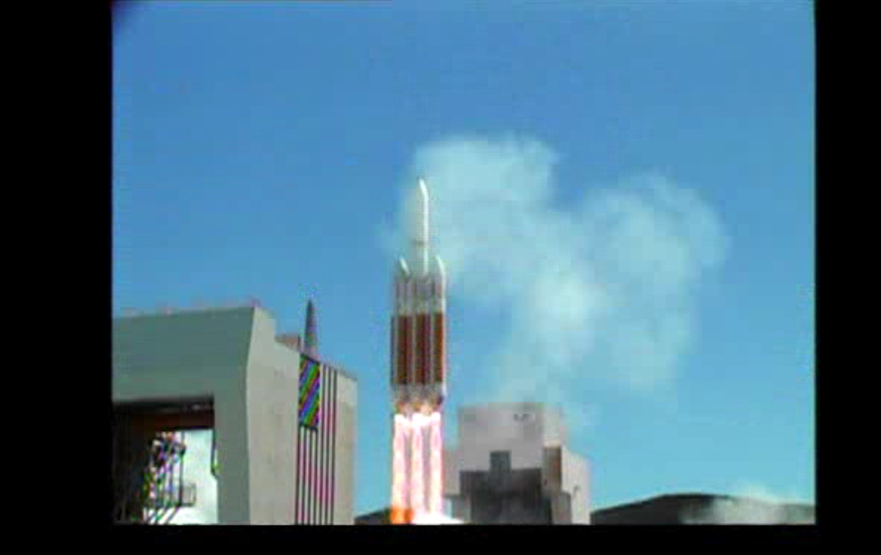 NROL-65 Spy Satellite Rises into the Sky