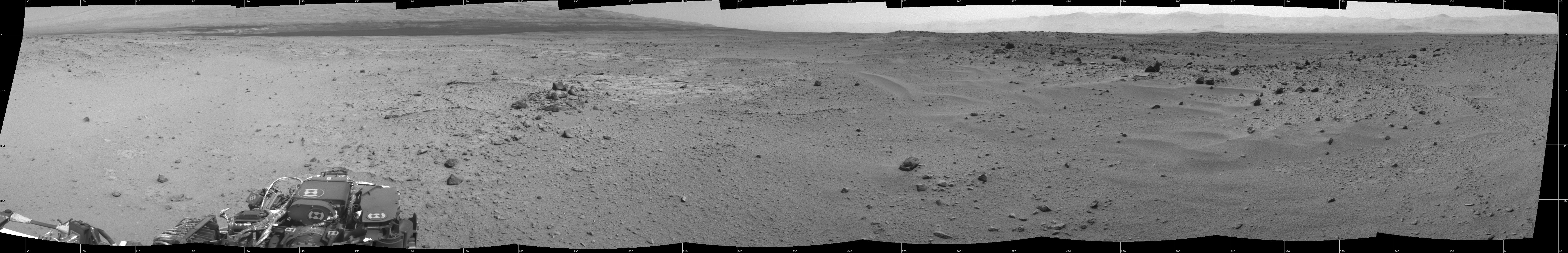 Curiosity Drives Solo for First Time