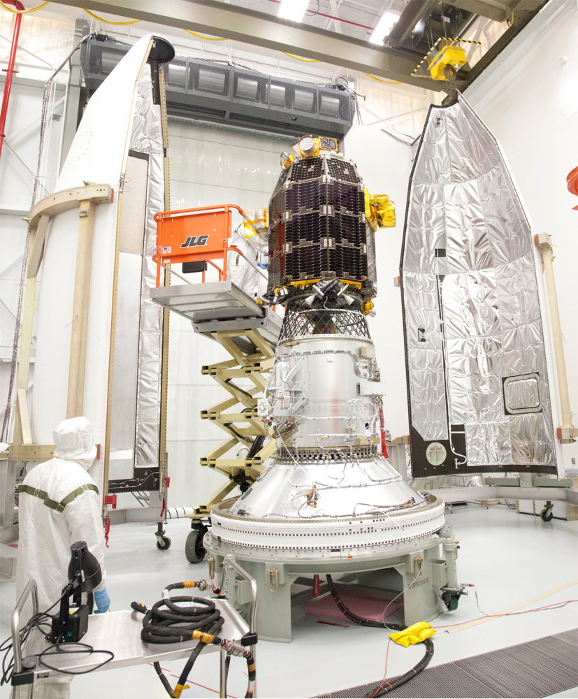 LADEE Spacecraft Prepared for Encapsulation