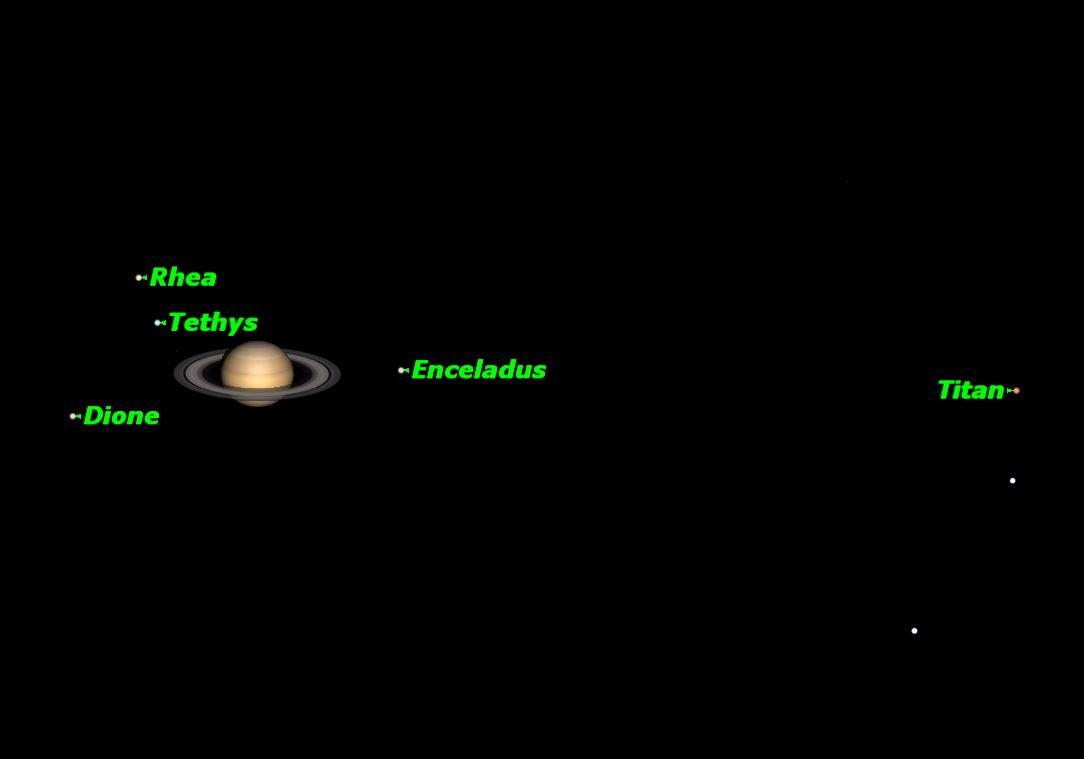 Saturn, September 2013