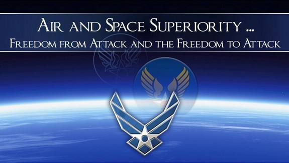 Logo: Air and Space Superiority