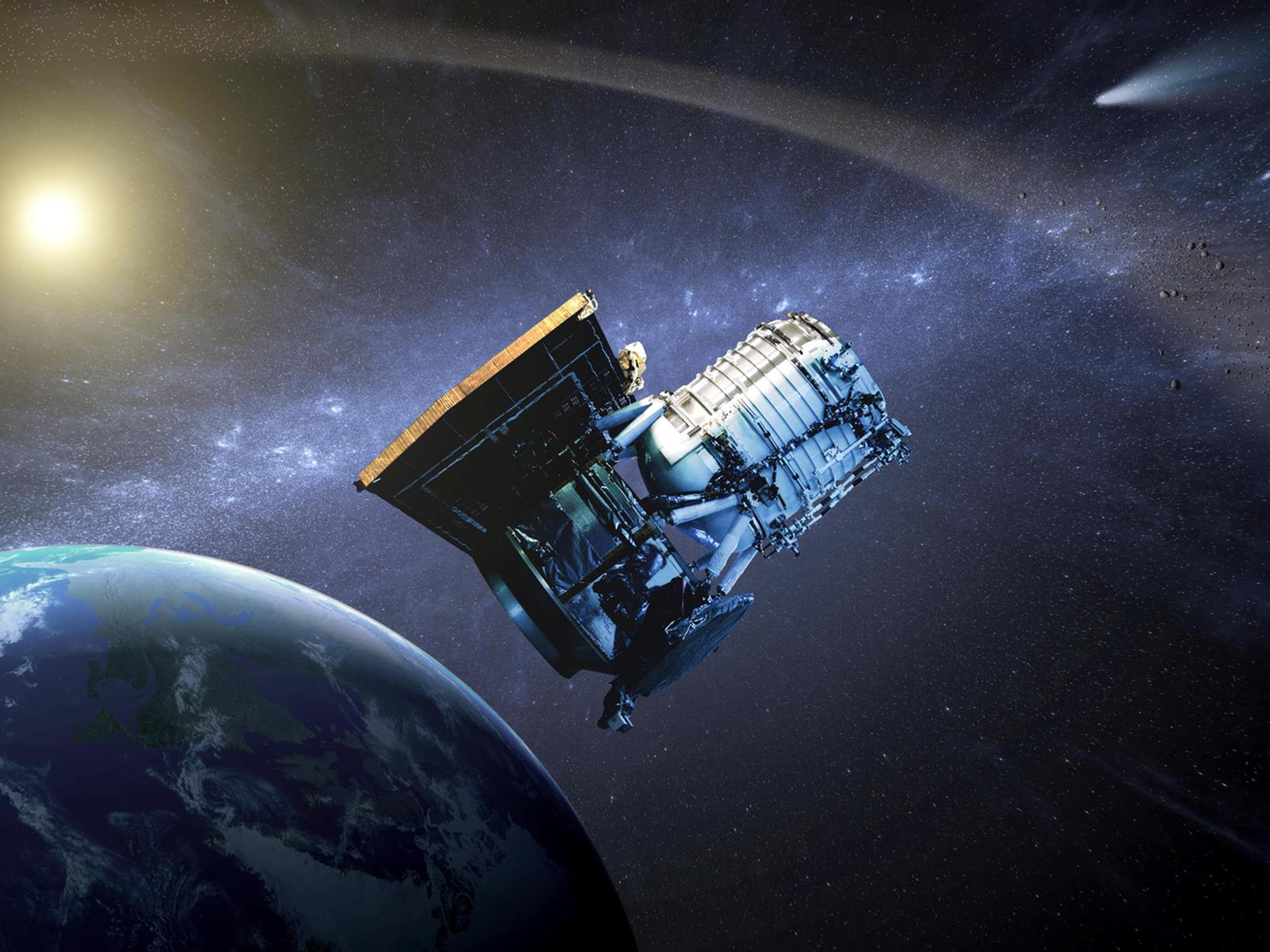 NEOWISE artist concept space wallpaper
