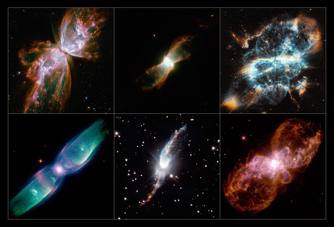 A Selection of Hubble's Planetary Nebulae