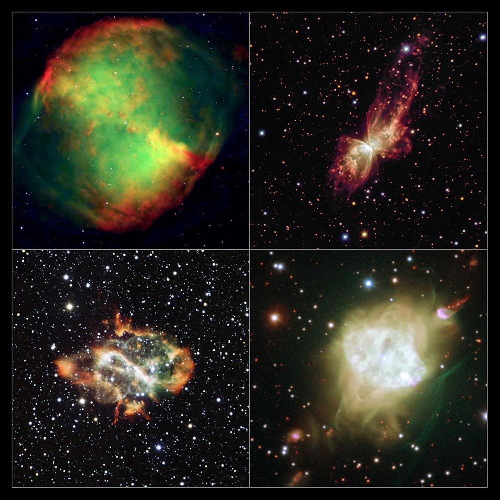 Four Bipolar Planetary Nebulae