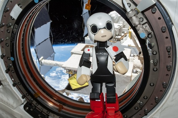 Kirobo said its first words, in Japanese, aboard the space station on Aug. 21, 2013.