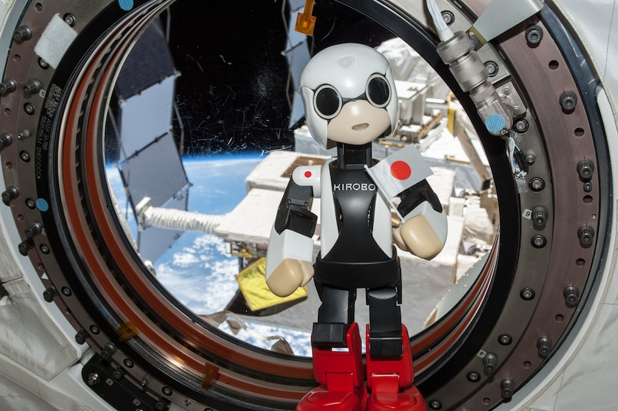 Japan's Kirobo Talking Robot Speaks 1st Words In Space (Video)