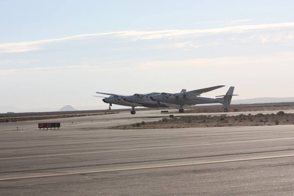 SpaceShipTwo 2nd Powered Flight Test: Take Off