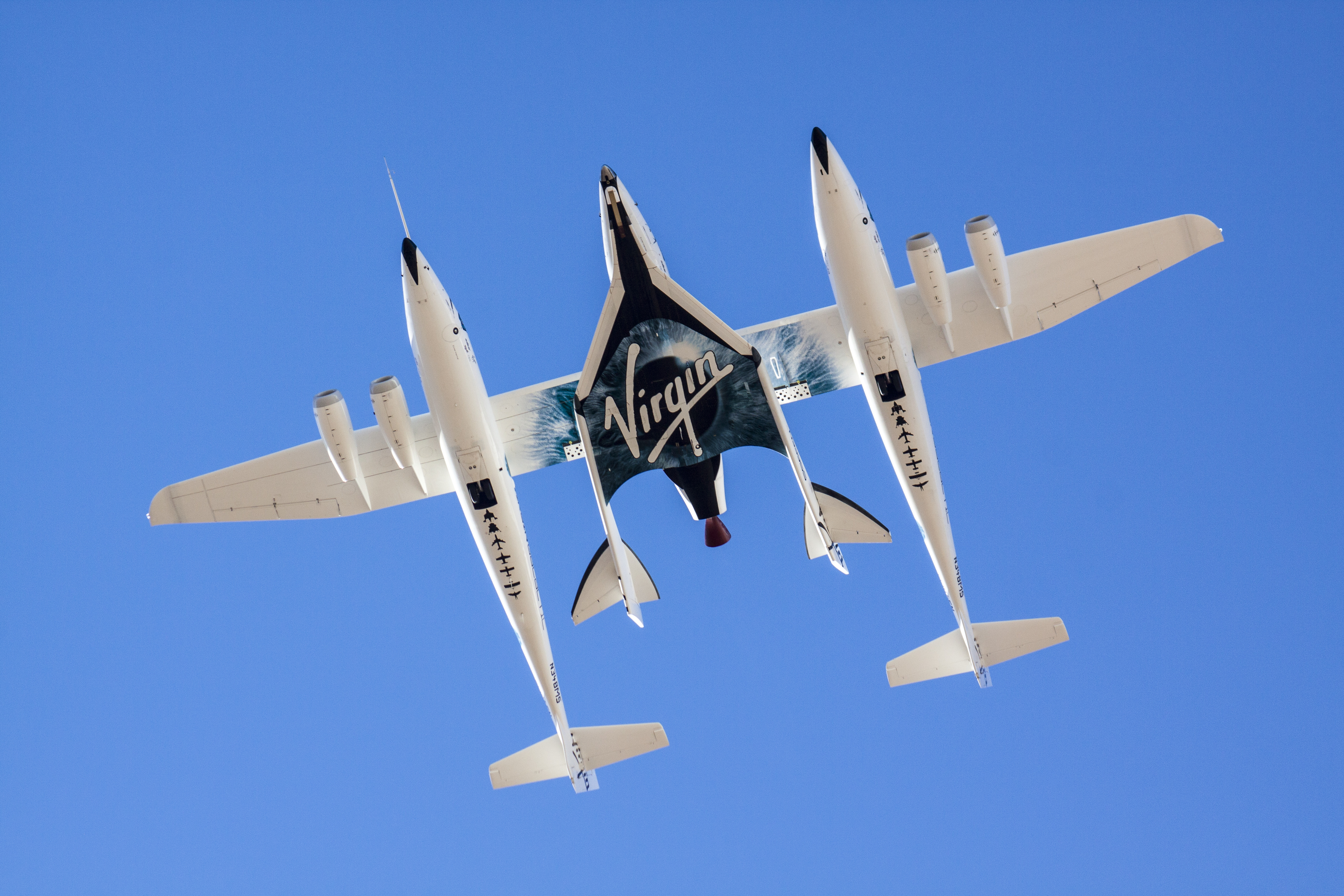SpaceShipTwo Soars Skyward on Second Rocket-Powered Flight Test