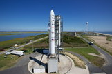 NASA is making final preparations to launch the lunar LADEE probe at 11:27 p.m. EDT Friday, Sept. 6, from NASA's Wallops Flight Facility on Wallops Island, Va. Image released Sept. 5, 2013.
