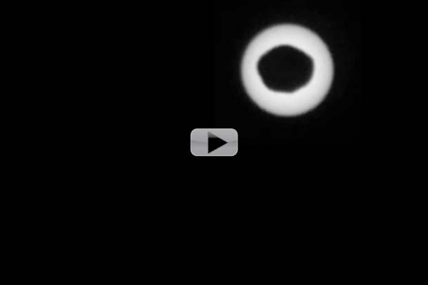 Curiosity Sees Mars' Moon Eclipse Sun | Video