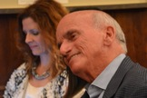 Businessman and private spaceflyer Dennis Tito in the audience at the Explorers Club in New York on Sept. 4, 2013.