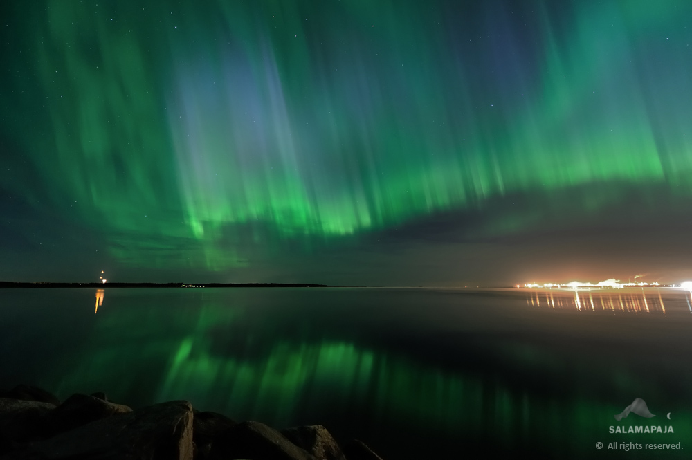 Spellbinding Northern Lights Shimmer Over Finland (Photo)