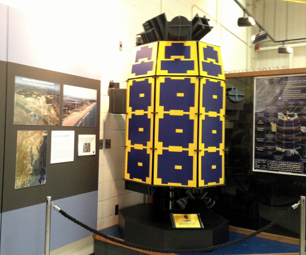 Full-Size Model of NASA's Lunar Atmosphere and Dust Environment Explorer