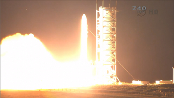 LADEE Launches Into Space!