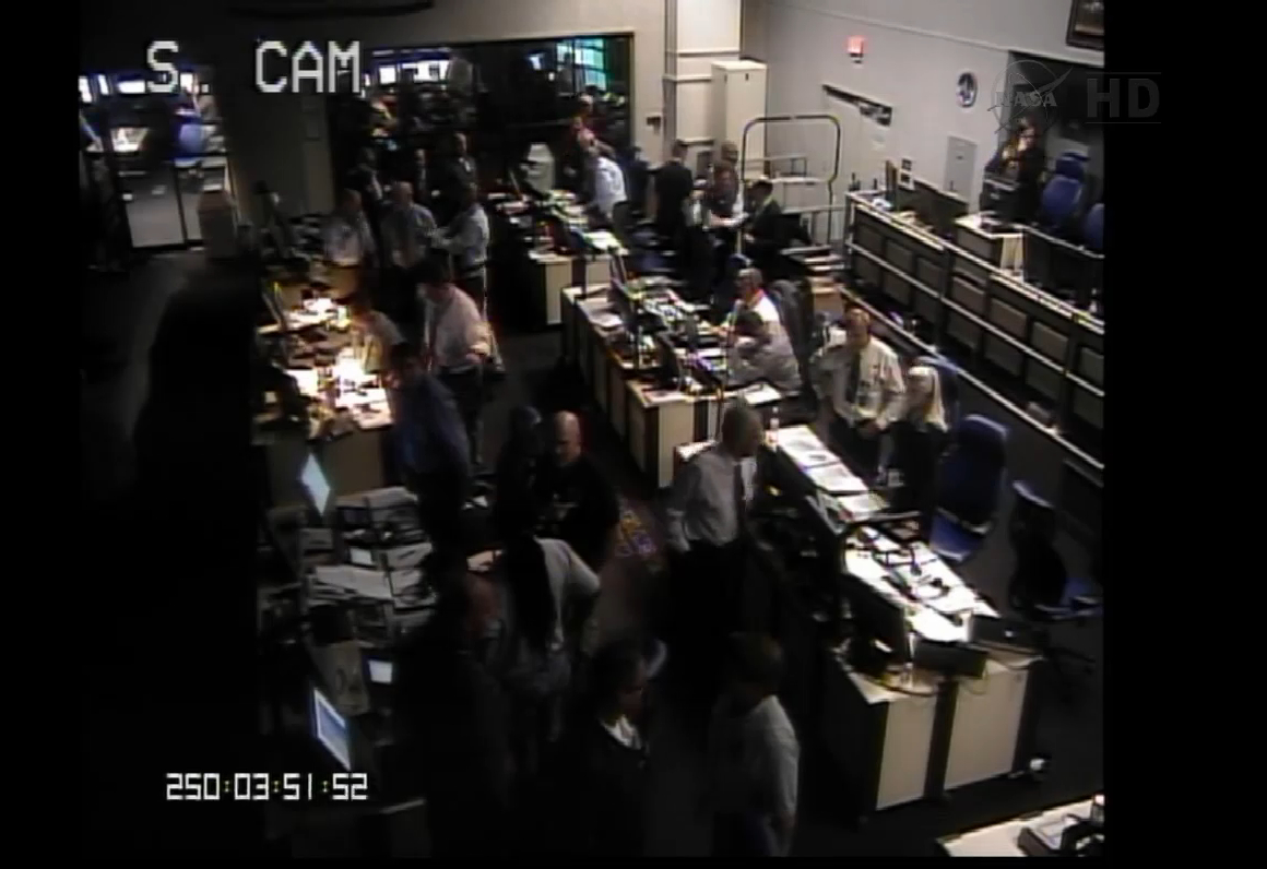 LADEE Launch Controllers Celebrate Success
