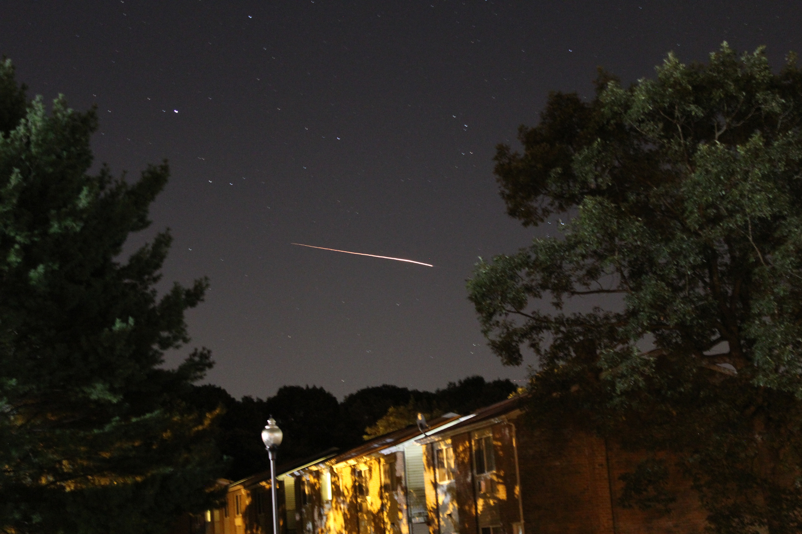 LADEE Moon Probe Launch Seen from New Jersey