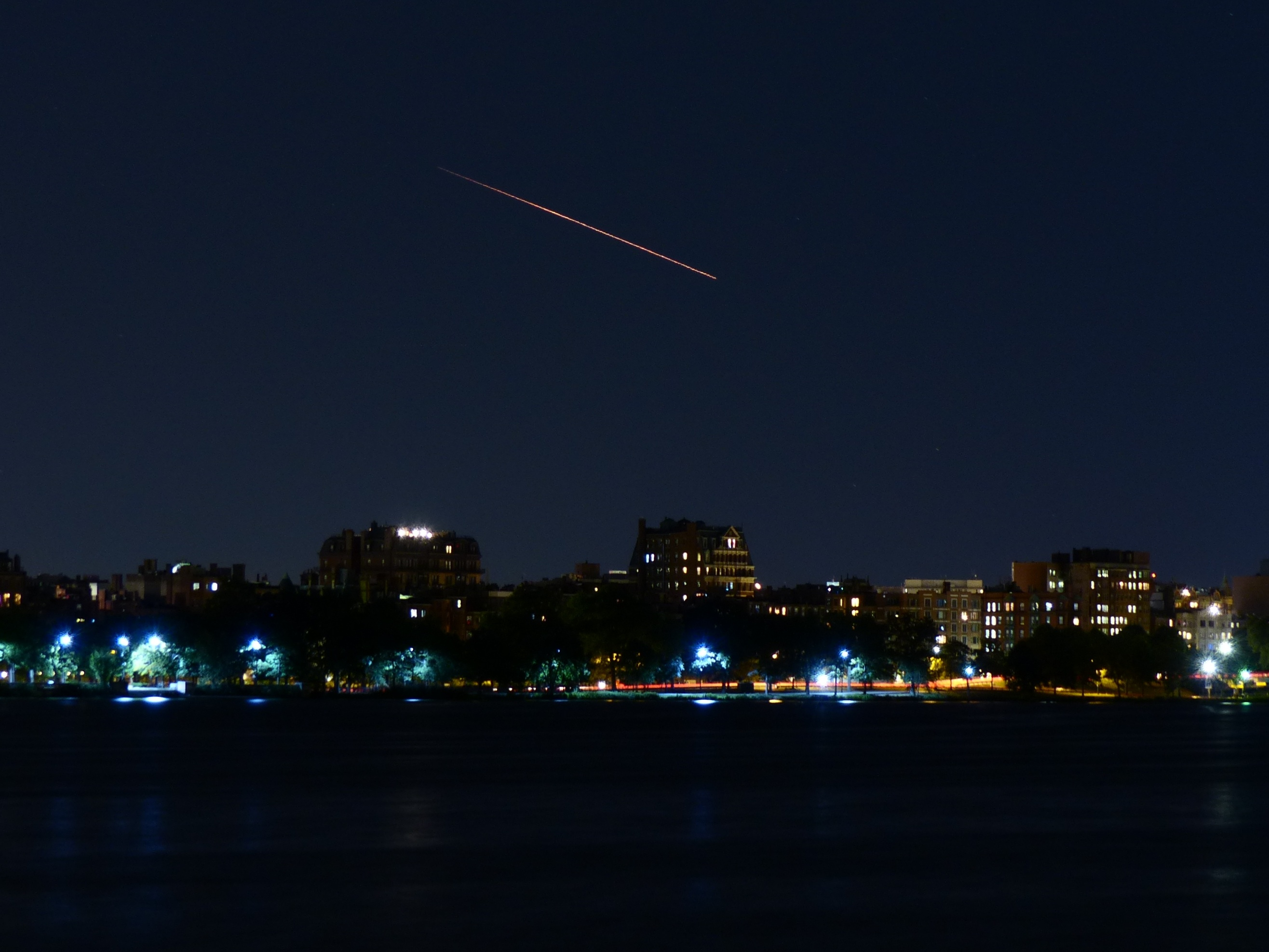 LADEE Launch Seen from Cambridge, Mass.