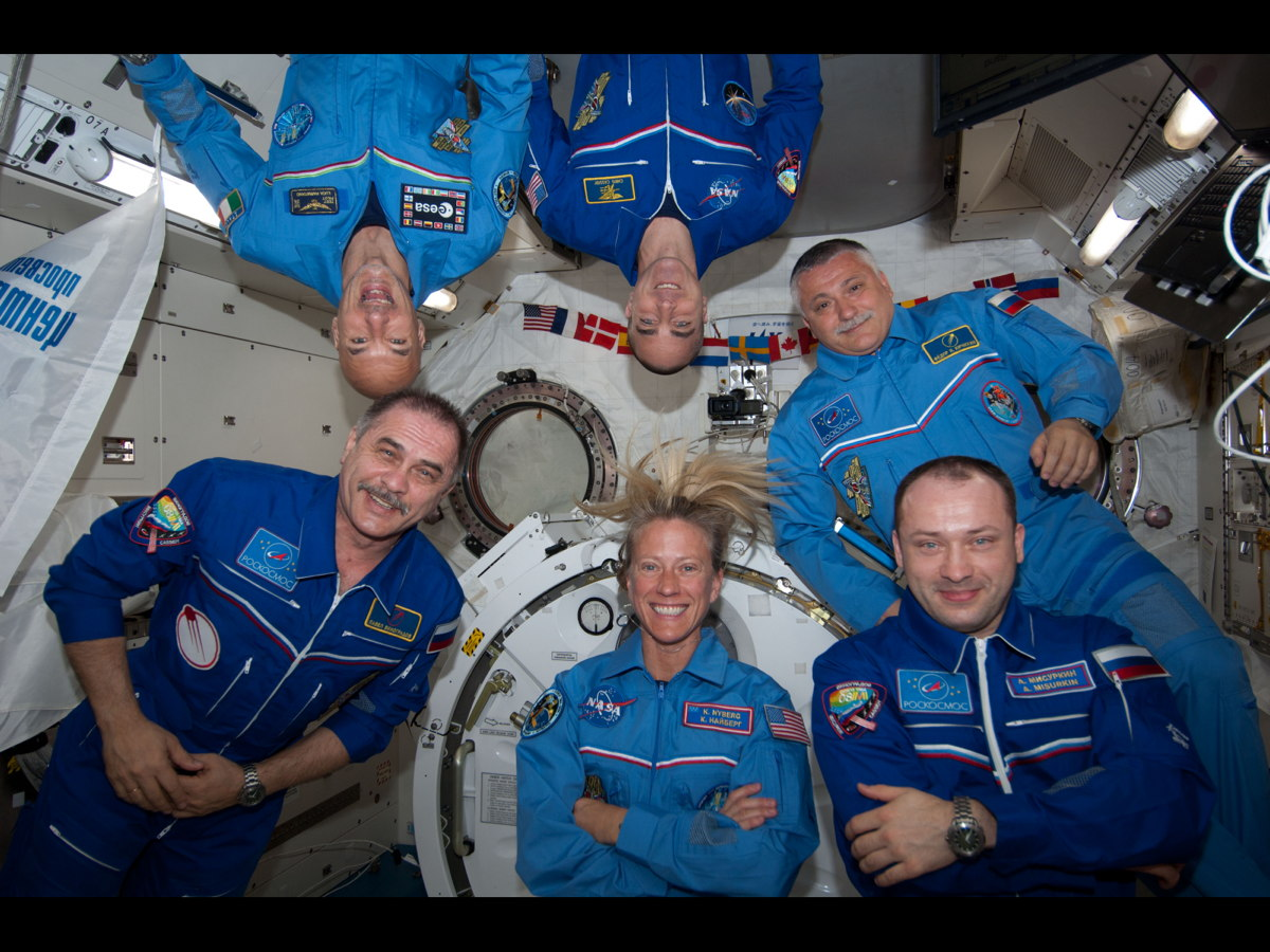 Expedition 36 Crew to Return to Earth