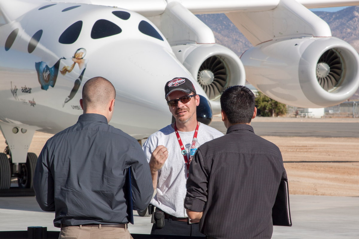 Questions Answered at Virgin Galactic Career Day