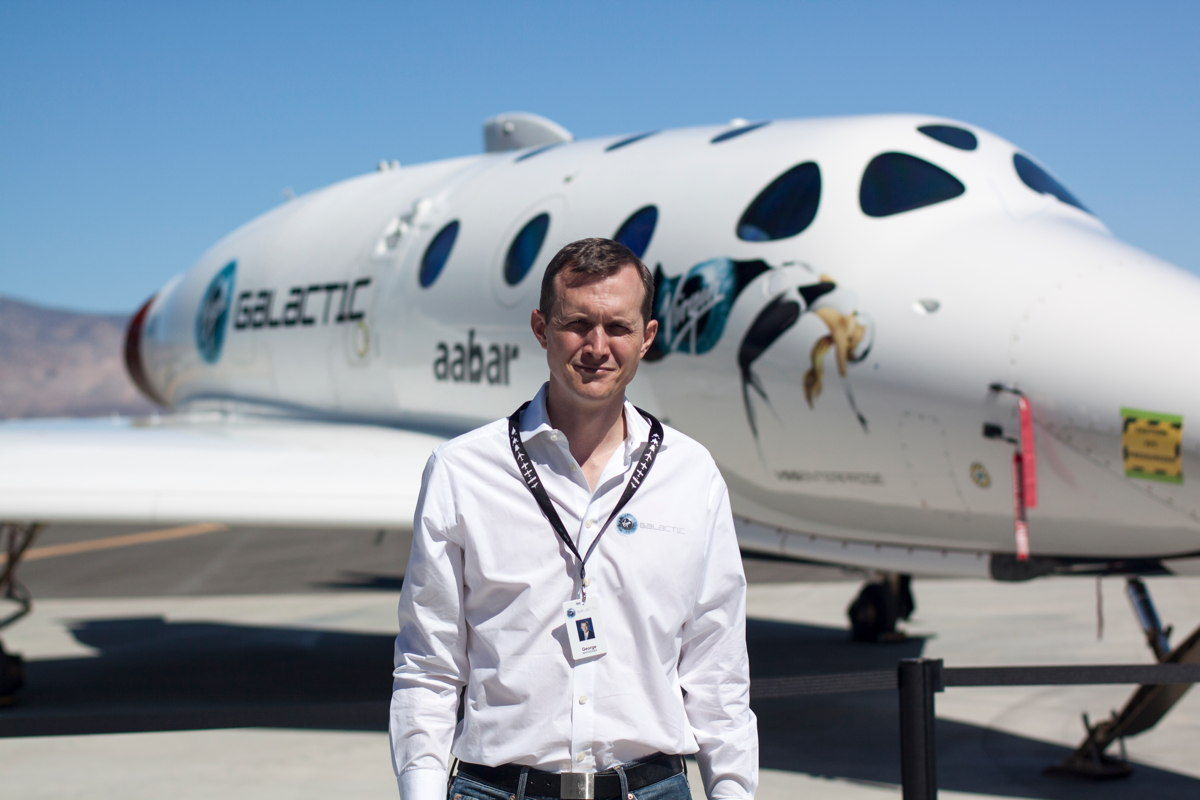 George Whitesides of Virgin Galactic