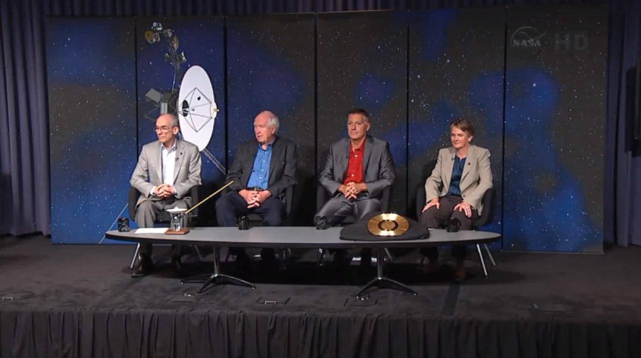 NASA Press Conference Regarding Voyager 1