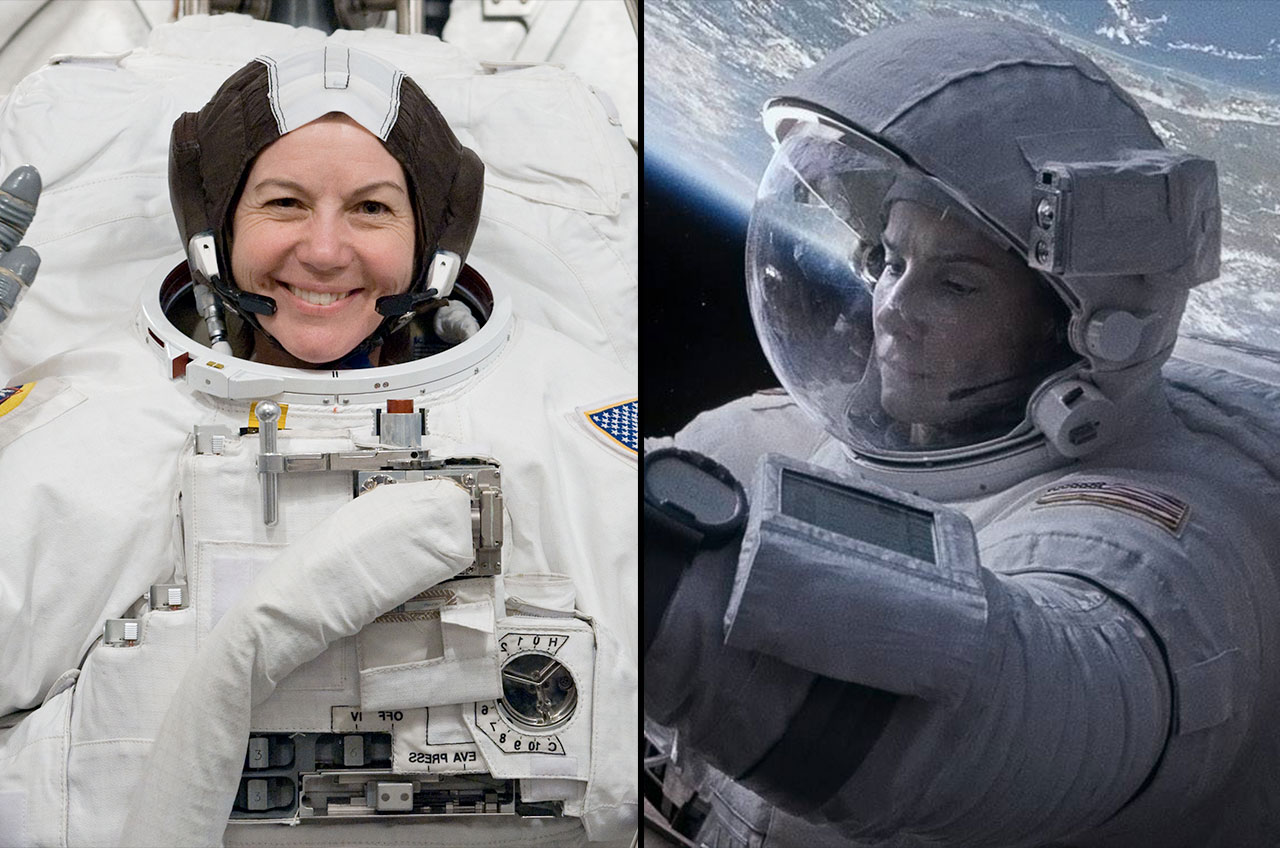 Astronaut Gave 'Gravity' Advice to Sandra Bullock from Space