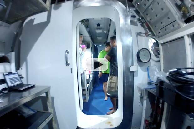 Take A Tour Of The Underwater Astronaut Habitat, Aquarius