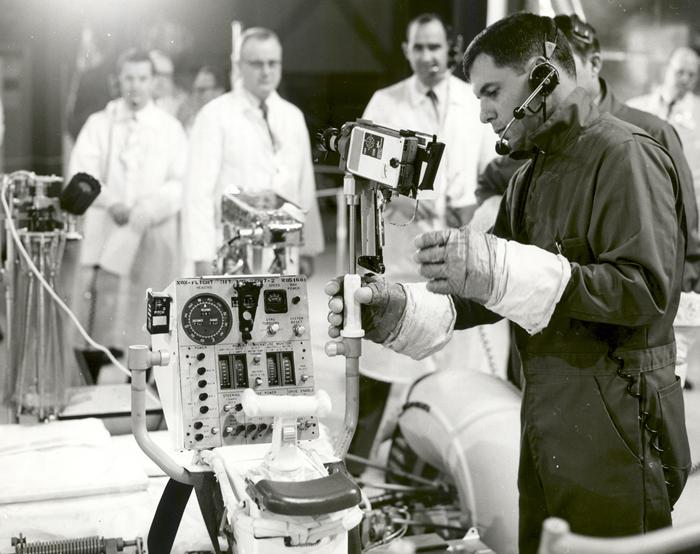 Space History Photo: Lunar Roving Vehicle (LRV) Qualification Unit