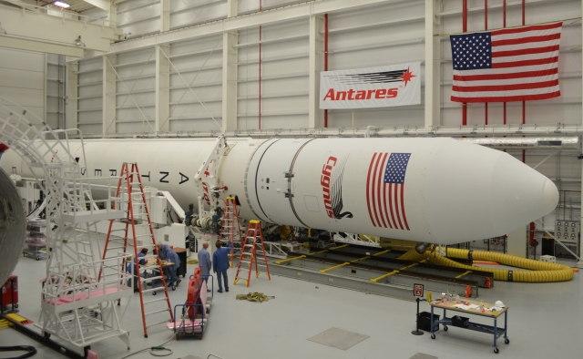Cygnus Encapsulated in Antares Fairing #4