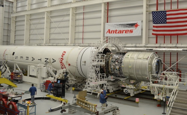 Cygnus Mated to Antares #2