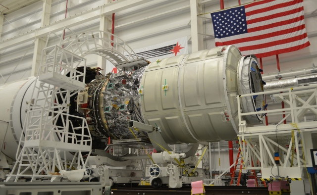 Cygnus Mated to Antares #1