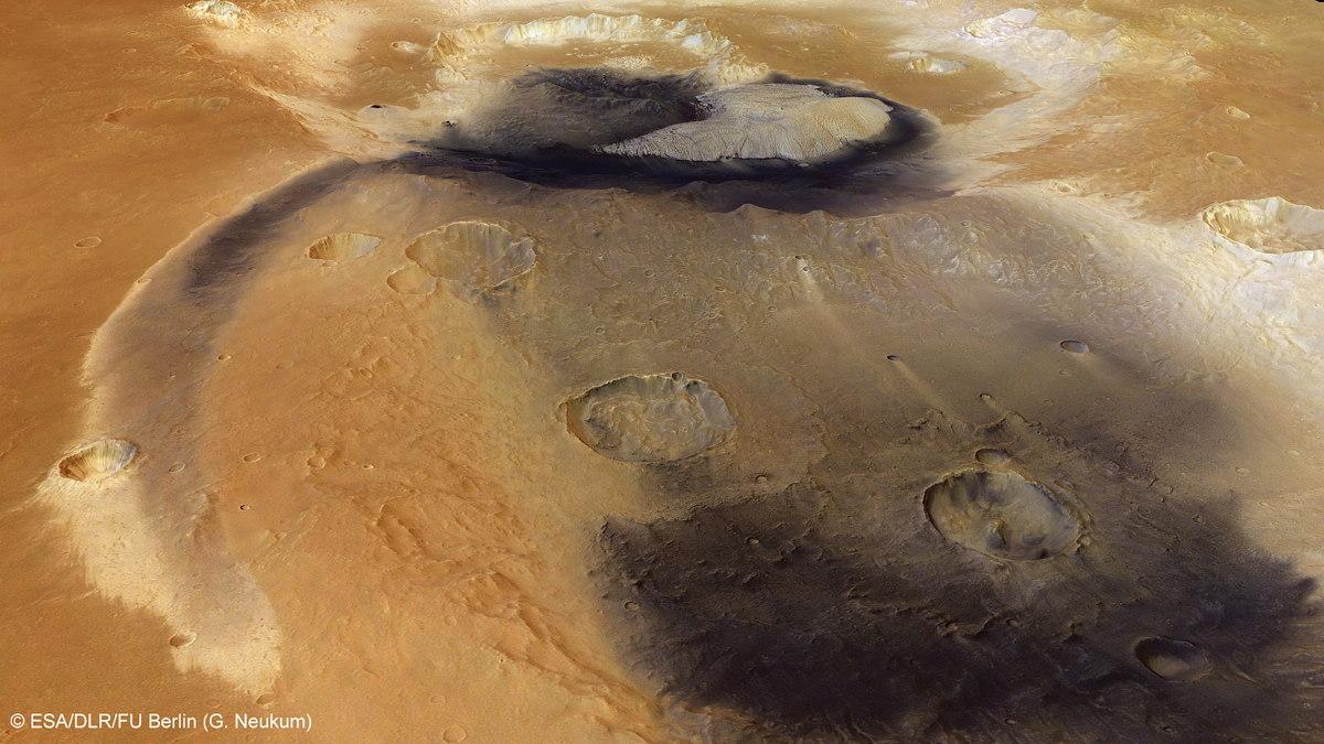 Becquerel Crater on Mars