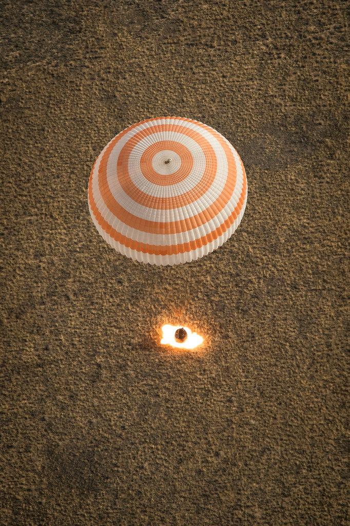 Soyuz Space Capsule Landing Glitch No Danger to Crew, NASA Says