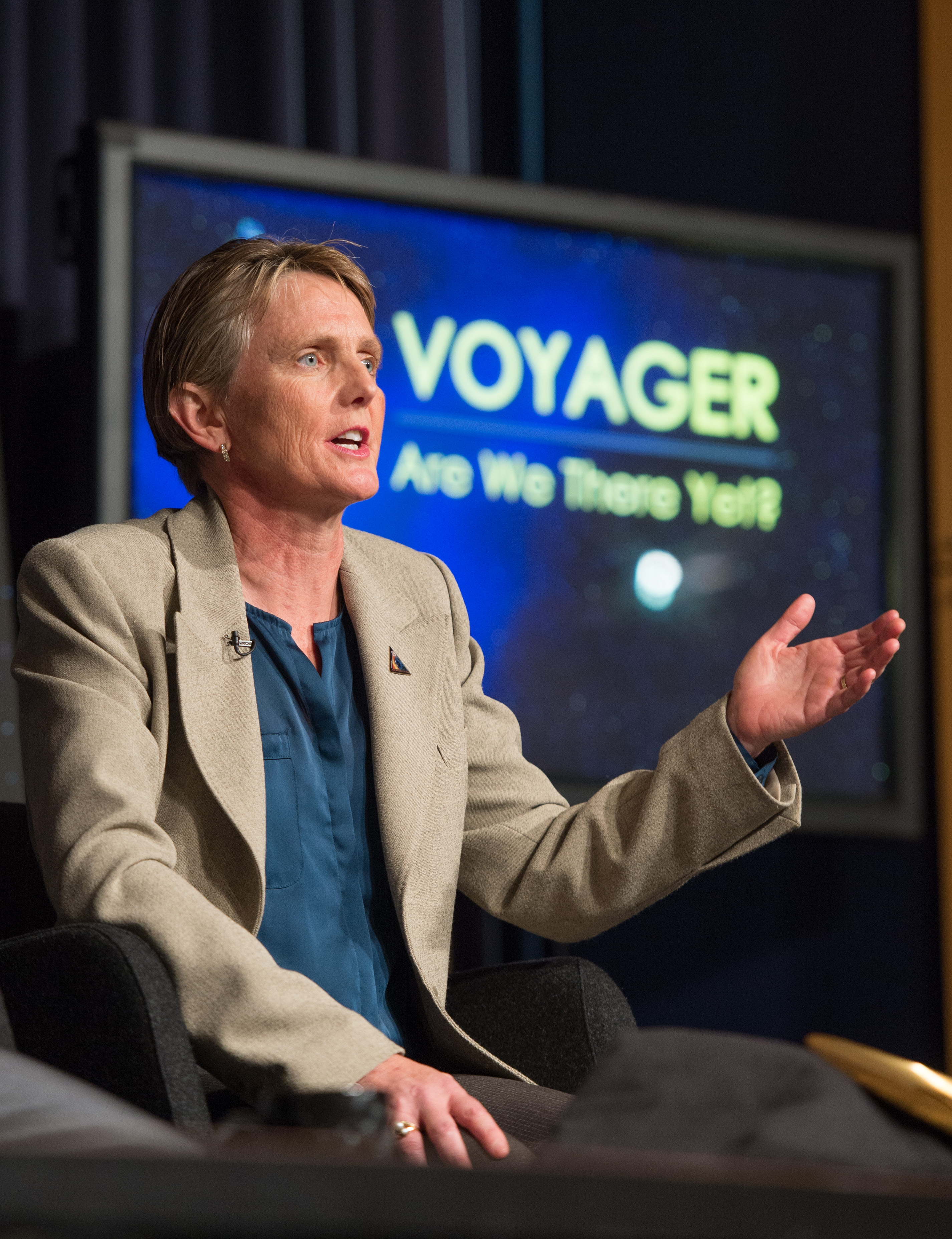 Sept. 12, 2013: Suzanne Dodd Speaks at Voyager 1 Press Conference