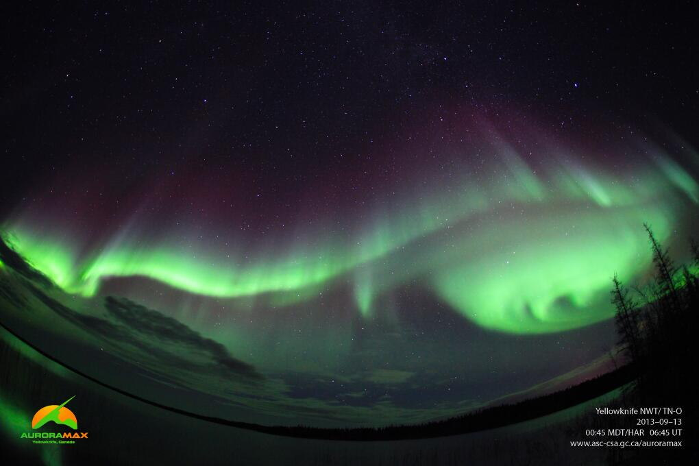Source of Space Weather, Northern Lights Found In Earth's Magnetic Field